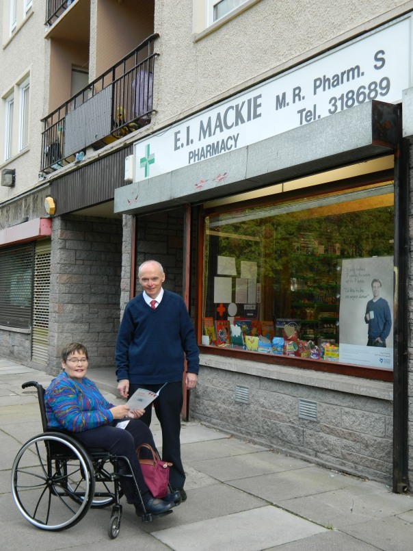 Dame Anne & Pharmacist Euan Mackie